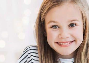 photo of child smiling