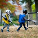 kids playing lacrosse